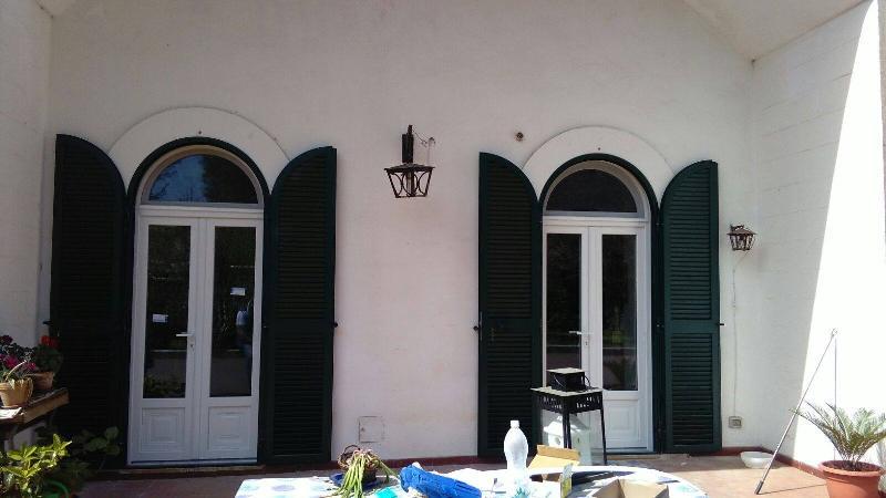 Infisso in PVC con Persiana Blindata in Acciaio '' Villa Martina Franca''