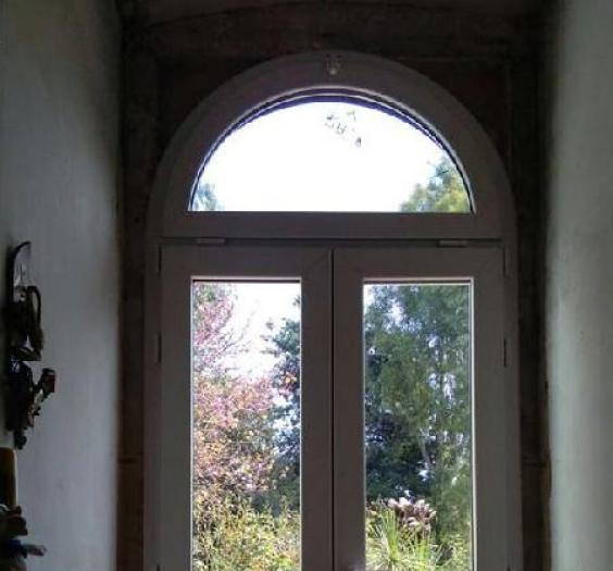 PortaFinestra con sopraluce ad arco